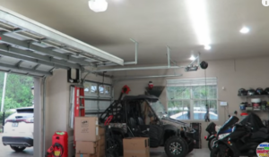 light up garage without electricity